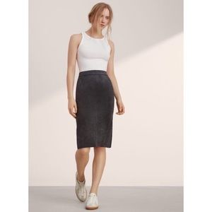 Wilfred Lis Suede Skirt
